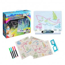Доска для рисования с эффектом 3D Magic Drawing Board
