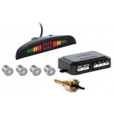 Парктроник автомобильный PAssistant на 4 датчика + LCD монитор Серые датчики