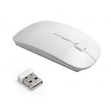 Беспроводная ультратонкая мышь мышка Белая