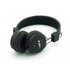 Беспроводные Bluetooth Наушники с MP3 плеером NIA-X2 Радио блютуз Чёрные