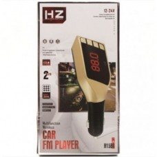 Автомобильный FM трансмиттер модулятор H15 Bluetooth MP3