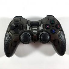 Беспроводной Джойстик 6 в 1 для ПК/PS2/PS3/PC360/ANDROID TV/WIN10 вибро чёрный