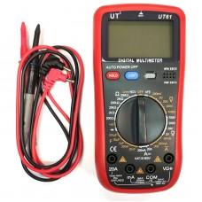 Цифровой Профессиональный мультиметр UT 61 тестер вольтметр