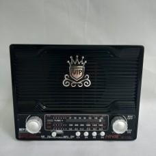 Радиоприемник NS-1556S с солнечной панелью Чёрный