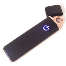 Спиральная электрическая USB зажигалка ZGP 4 Чёрная