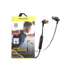 Беспроводные Bluetooth наушники Awei B990BL Чёрные