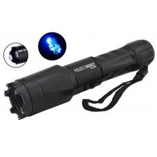 Многофункциональный тактический электро фонарик с отпугивателем Police 1201 158000KV
