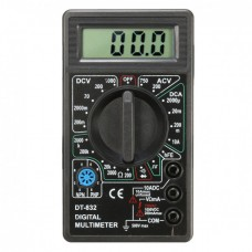 Цифровой мультиметр (тестер) DT-832