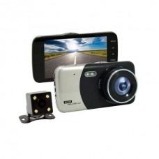 Видеорегистратор с камерой заднего вида DVR CT 503 1080P 4''