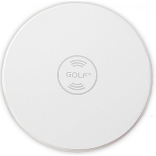 Беспроводная зарядка Golf GF-WQ3 Wireless Charger БЕЛАЯ