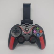 Беспроводной Bluetooth джойстик N1-9013 Чёрный с красным