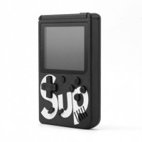 Игровая консоль приставка dendy SEGA 400 игр 8 Bit SUP Game без джойстика черный