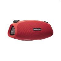 Портативная беспроводная стерео колонка Hopestar H43 c Bluetooth, USB и MicroSD Красная