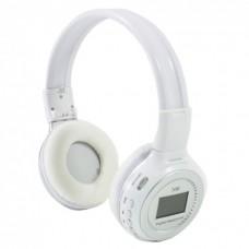 Беспроводные Bluetooth наушники Wireless N65 Stereo Белые