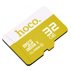 Карта памяти Hoco Micro SDHS 32GB Жёлтая