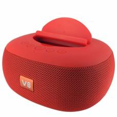 Беспроводная Bluetooth Колонка JBL V8 с подставкой для телефона Красная