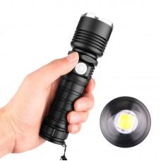 Мощнейший ручной аккумуляторный фонарь BL-515-P50 фонарик 1500 Lumen