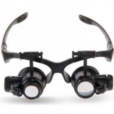 Бинокулярные очки-лупы c Led подсветкой 9892G1