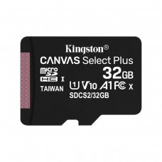 Карта памяти Kingston 32GB microSDHC class 10 UHS-I A1 (R-100MB/s) Canvas Без адаптера