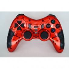 Беспроводной Джойстик 6 в 1 для ПК/PS2/PS3/PC360/ANDROID TV/WIN10 вибро красный