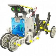 Конструктор - робот 14 в 1 на солнечных батареях