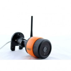 Камера видео наблюдения настеннная CCTV 7010 WIFI ОРАНЖЕВАЯ