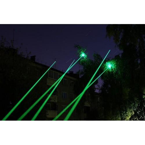 Зеленая мощная лазерная указка Laser 303 GreenLaser 1000мВт