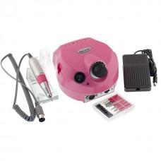 Фрезер для маникюра и педикюра Nail Drill DM-202 35000 оборотов 30 Вт Розовый
