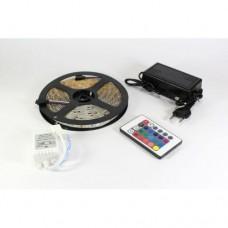 Лента светодиодная RGB 5050 - полный комплект влагозащищена 5 метров