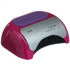 УФ лампа для ногтей Beauty nail 18K CCFL LED 48W сушилка сенсор Малиновый